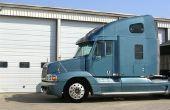 Vrachtwagen motor identificatie