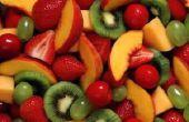 Hoe maak je gekarameliseerde vruchten