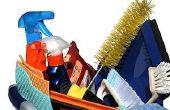 Hoe maak je een huis schoonmaken van controlelijst