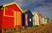 Stranden van Port Phillip, Australië