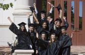 Wat gebeurt er bij een middelbare School afstuderen?