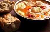 Hoe maak je kip & Dumplings met behulp van Bisquick