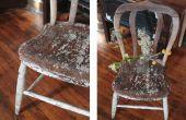 Rustieke meubels verftechnieken