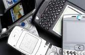 Het inschakelen van een telefoon met een lege batterij
