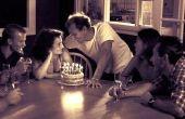Hoe kan ik mijn man's 30e verjaardag vieren?