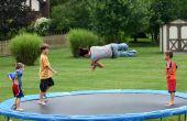 Hoe het verhogen van de Bounce op een Trampoline
