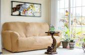Hoogte te hangen van een afbeelding Over een Sofa