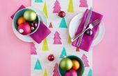 Hoe maak je een omkeerbare herfst/kerst tafel loper