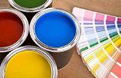 Hoe te kiezen voor verf kleuren voor uw nieuwe huis