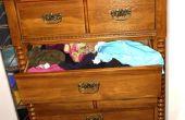 How to Get Rid van de chemische geur in nieuwe dressoirs