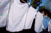 Hoe te verwijderen van gele vlekken uit witte linnen