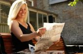 Hoe Decoupage met krant
