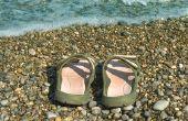 Hoe schoon Adidas sandalen