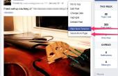 Hoe te verbergen of zichtbaar te maken van een Post op Facebook