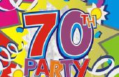 Ideeën voor een verrassing 70e verjaardagspartij