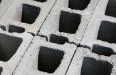 How to Build een rand Cement blok tuin
