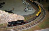DIY lichtgewicht trein tabel