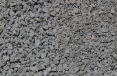 Toevoeging van Cement Mix aan grind oprit