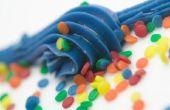 Wat voor soort glazuur moet ik maken voor een taart van Confetti?