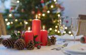Hoe maak je een Christmas Dining Tabel Centerpiece