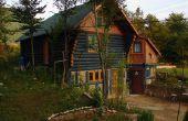 Wat gerecycleerde materialen worden gebruikt om een huis te bouwen?