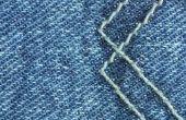 Hoe maak je Jeans stijf