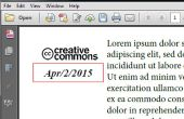 Hoe kan ik een datumveld invoegen in Adobe Acrobat