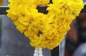 Hoe maak Indiase bruiloft slingers