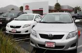 Lijst van auto's die zijn gemaakt door Toyota