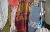 Manieren om op te hangen venster sjaals
