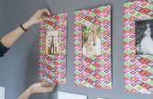 Hoe maak je de muur van een galerie thuis