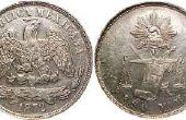 Hoeveel zijn Mexicaanse munten waard?