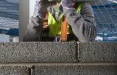 Wat Is de maximumhoogte voor het bouwen van een keermuur blok