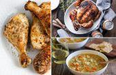 Nadenken over uw dagelijkse kip diners met deze recepten