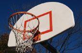 Hoe de berg een basketbal bord