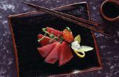 Kunt u het eten van rauwe tonijn vers uit het Water?