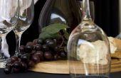 Hoe maak je een wijn mandje