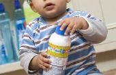 Hoe Baby bewijs keukenkasten