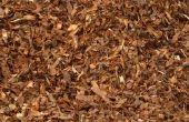 Hoe groot Is een werf mulch?