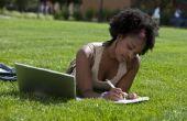 Hoe schrijf je een brief opnieuw toepassen voor een beurs van de Universiteit
