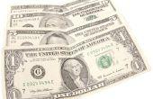 Ambachten met dollarbiljetten