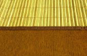 Hoe schoon bamboe dekens