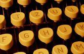 Typemachine Olympia & lint instructies