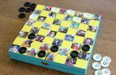 Gaan uw spel met een persoonlijke foto-Checkboard