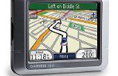 Het bijwerken van een Garmin GPS-toestel