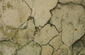 Hoe beton giet bestaande slaakte beton