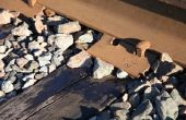 Verschillende maten van Railroad Spikes