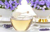 Hoe maak je lavendel thee
