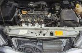 Hoe schoon een auto's AC verdamper