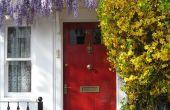 Hoe te schilderen van een deur beveiliging